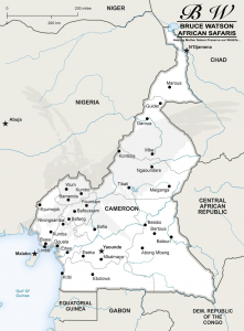 Cameroon Info Map