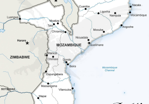 Mozambique Info Map